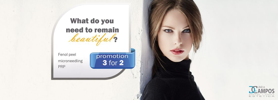 TREATMENTS TO REMAIN BEAUTIFUL – PROMOTION 3 FOR 2