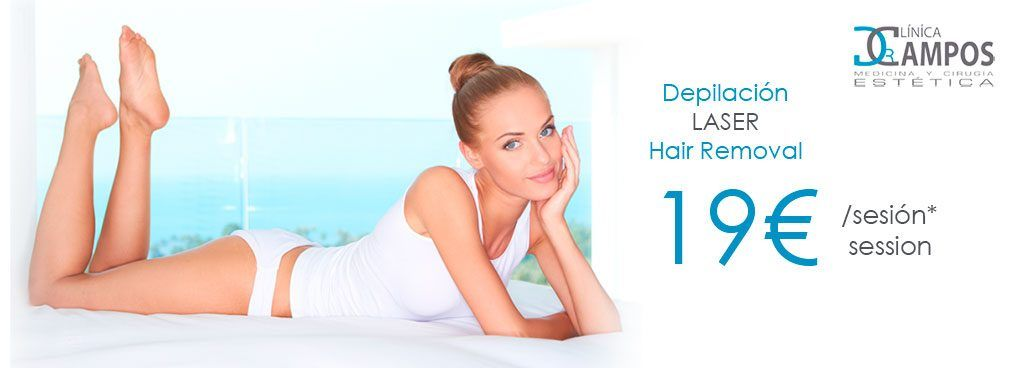 Promo Laser Hair Removal from 19€