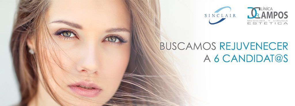 Buscamos Rejuvenecer a 6 Candidat@s