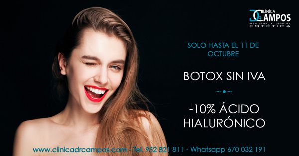 Special Promotion: Botox and Hyaluronic Acid