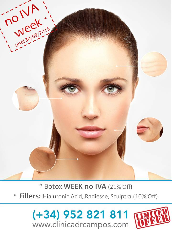 NO IVA WEEK - EXCLUSIVE OFFERS ON BOTOX AND FILLERS - Dr
