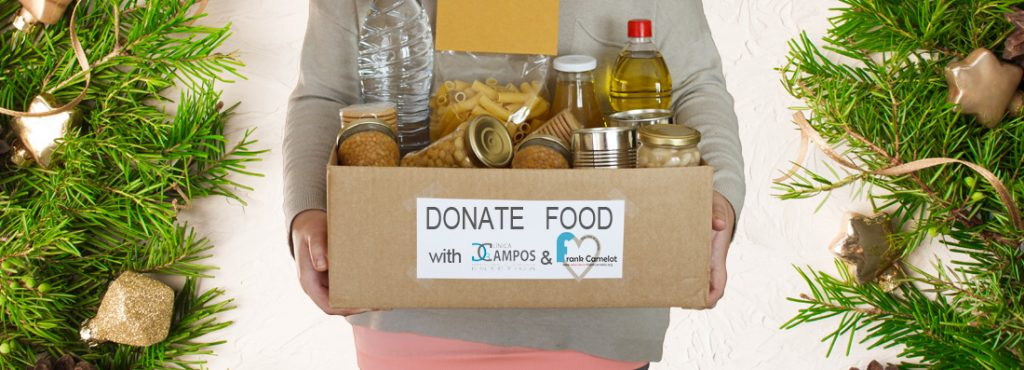 DONATE  FOOD AND GET DISCOUNTS AND GIFTS